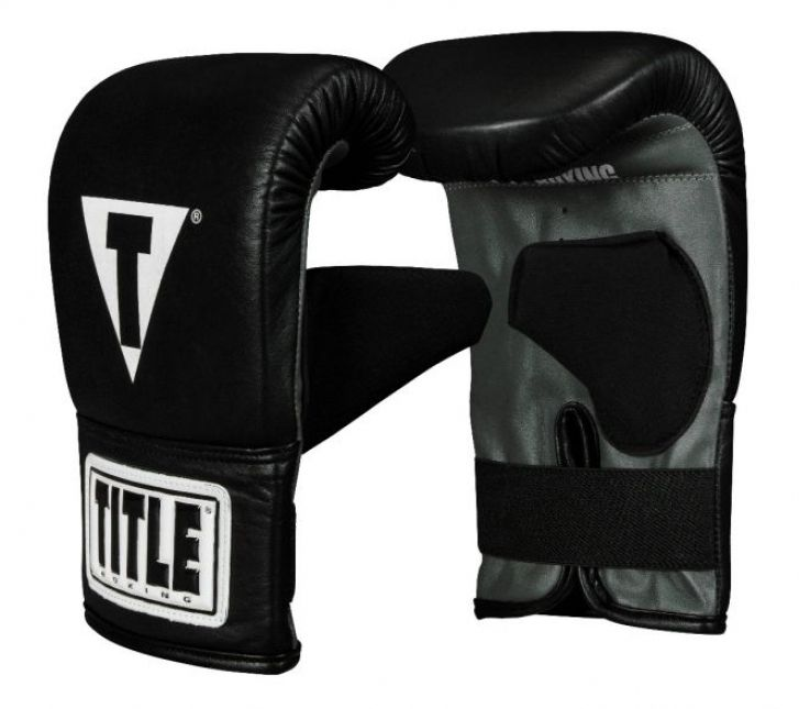 Снарядные перчатки TITLE Traditional Style Pro Bag Gloves-S/M