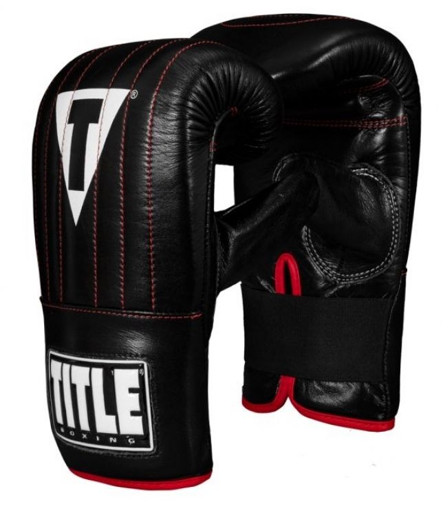 Битки для груши TITLE Boxing Pro Leather Speed Bag Gloves 3.0-S/M