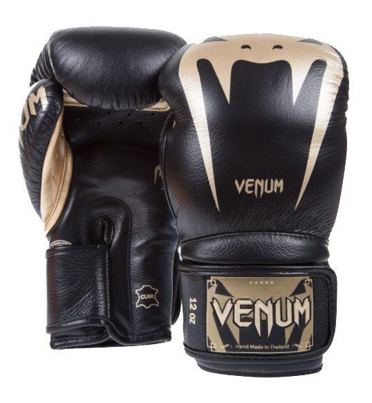 Перчатки Venum Giant 3.0 Boxing Gloves Black/Gold-16