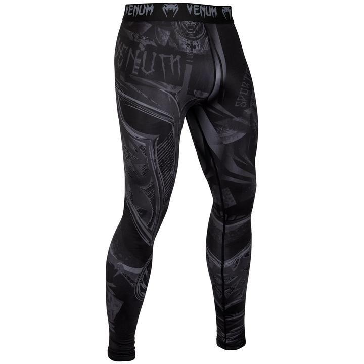 Компрессионные штаны Venum Gladiator 3.0 Spats Black-М