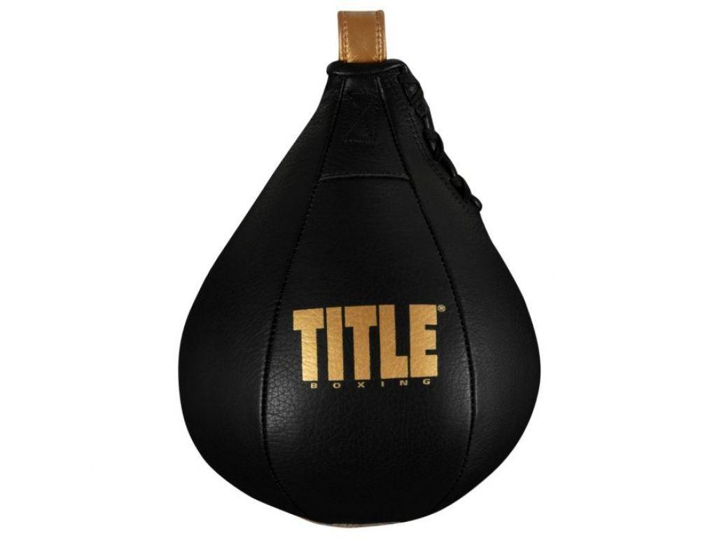 Груша пневматическая TITLE Boxing Hightail Leather Speed Bag-15 х 23 см