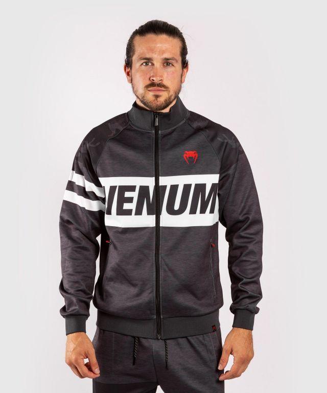 Спортивная кофта Venum Bandit Track Jackets Black Grey-XS