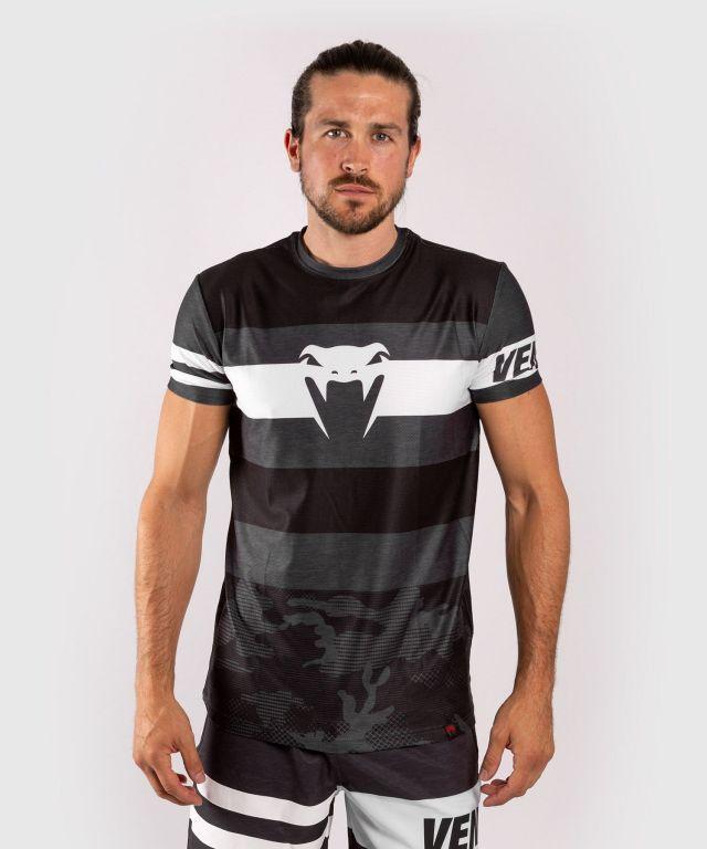 Футболка Venum Bandit Dry Tech T-shirt Black Grey-XS