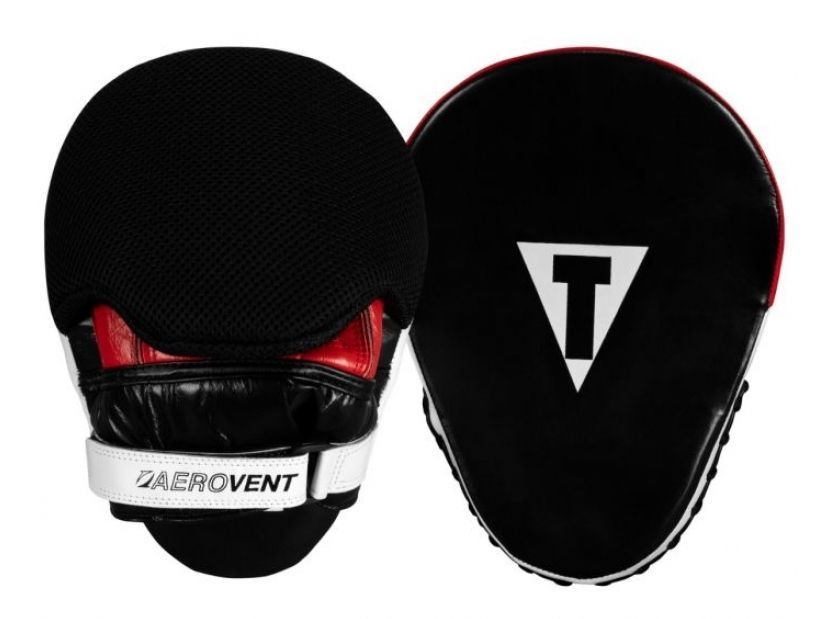 Лапы TITLE Boxing Aerovent Extreme Leather Punch Mitts-25 x 19