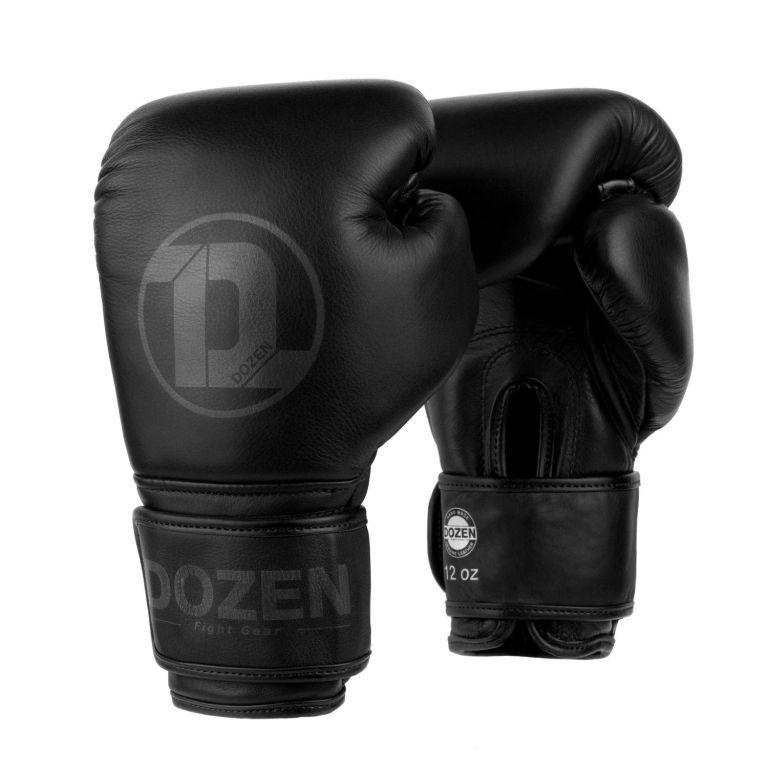 Боксерские перчатки Dozen Monochrome Training Boxing Gloves-12