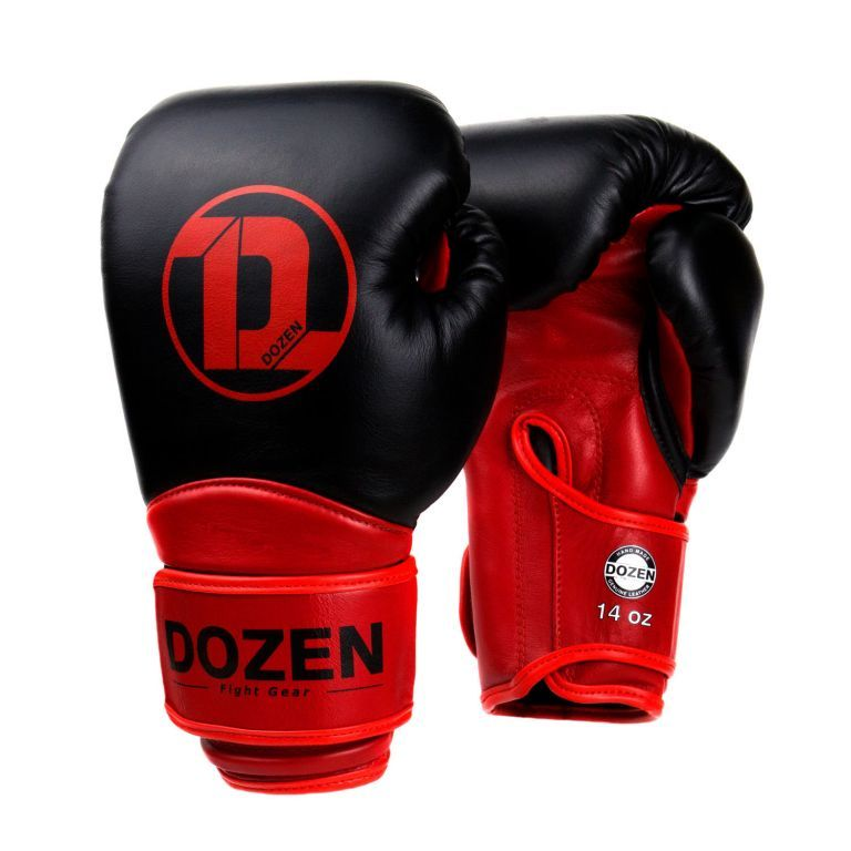 Боксерские перчатки Dozen Dual Impact Training Boxing Gloves-12
