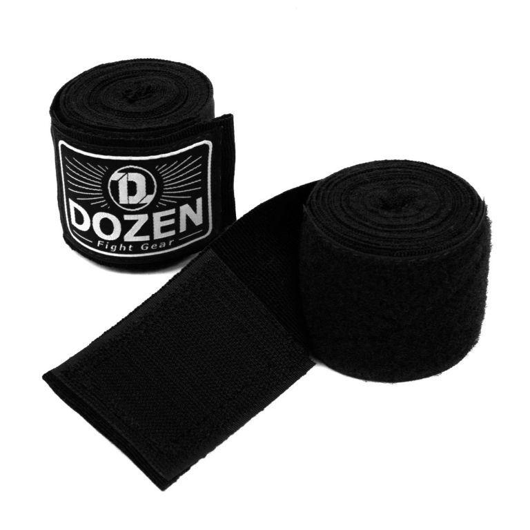 Боксерские бинты Dozen Monochrome Semi-elastic Hand Wraps-2,75м