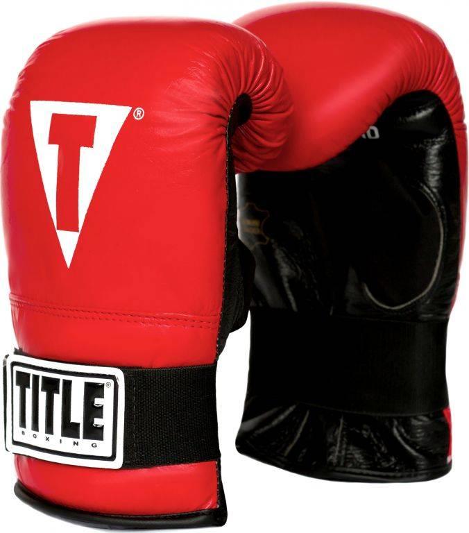 Снарядные перчатки для бокса TITLE Boxing Elastic Pro Bag