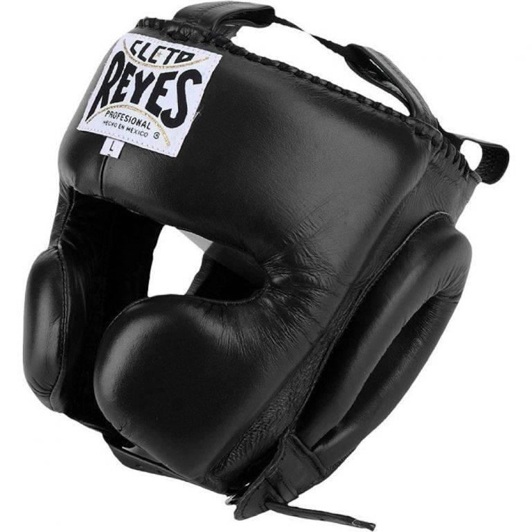 Боксерский шлем Cleto Reyes Cheek Protection Headgear-S