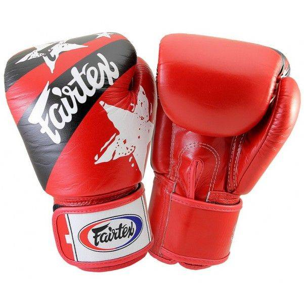 Боксерские перчатки Fairtex BGV1 Red Nation
