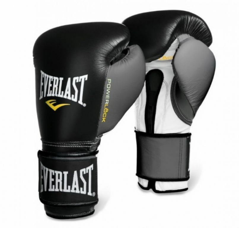 Перчатки для бокса Everlast Powerlock Hook & Loop Training Gloves-12