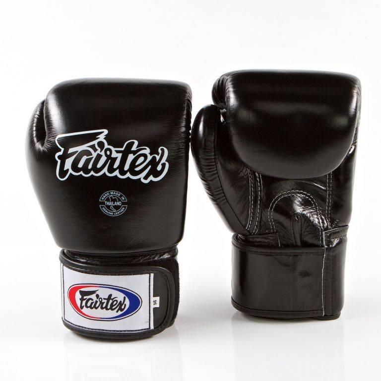 Боксерские перчатки Fairtex BGV1 Black-10