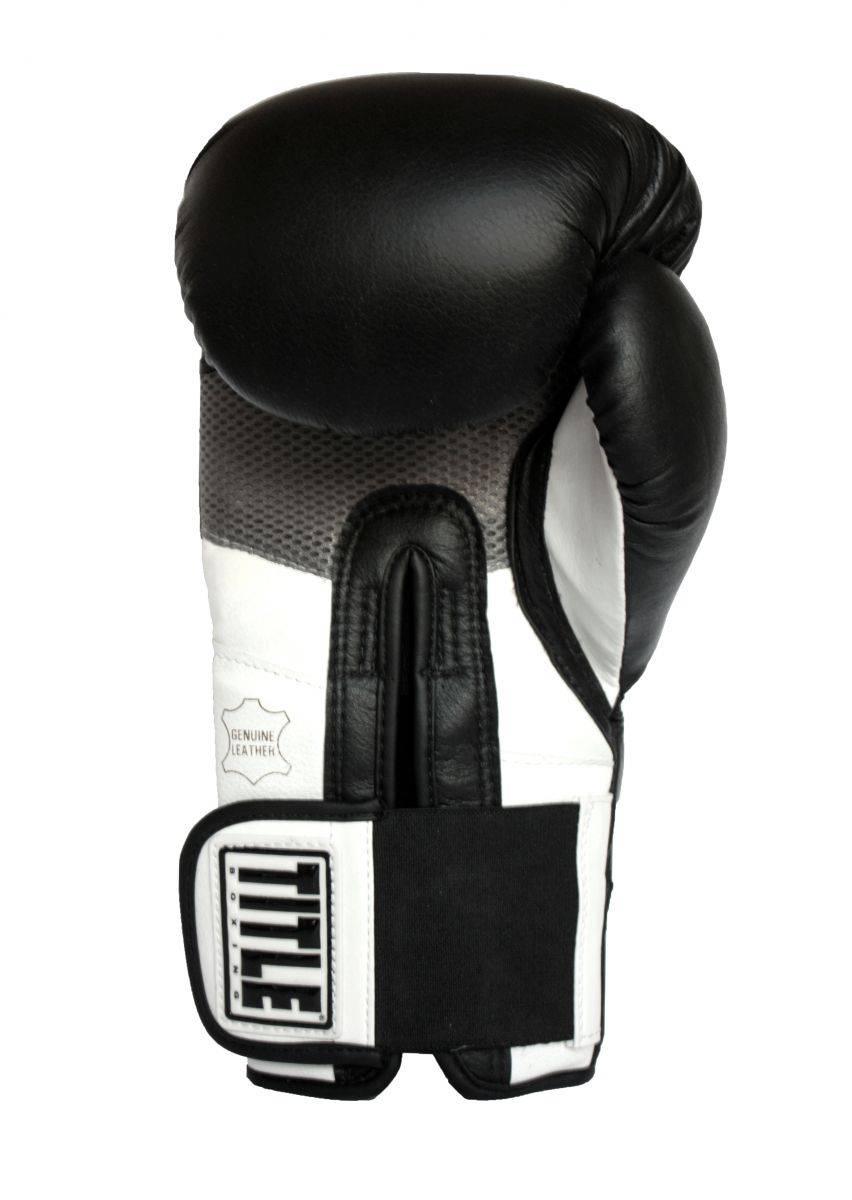 Боксерские перчатки TITLE Boxing Revolution Hook and Loop Training Gloves
