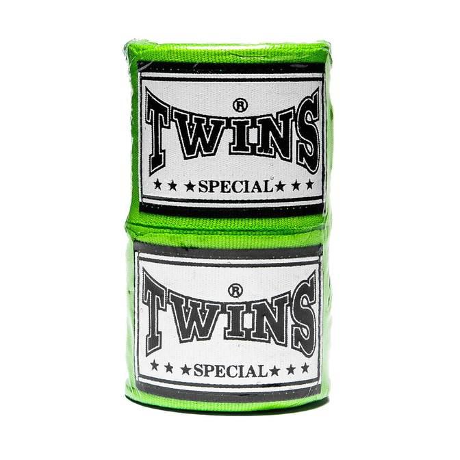 Бинты Twins (CH-1) 4,5м-зеленый