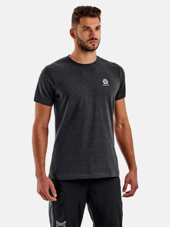 Футболка Peresvit Dynamic Cotton Short Sleeve T-shirt Carbon Heather-S