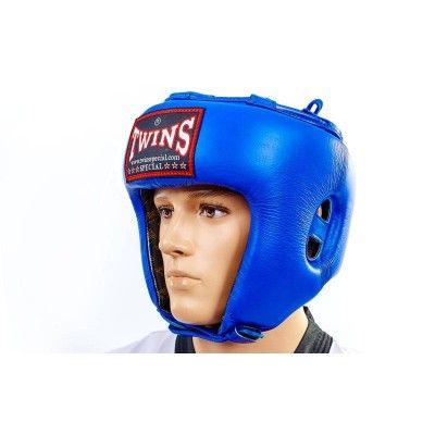 Боксерский шлем TWINS HGL-8 Red/Blue-S