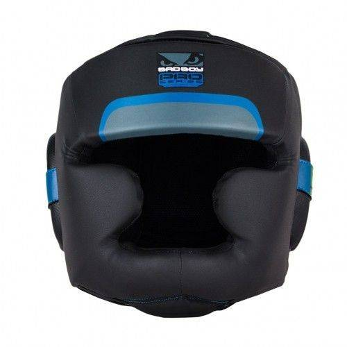 Боксерский шлем Bad Boy Pro Series 3.0 Full Blue