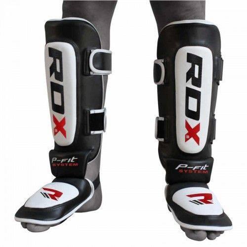 Защита голени и стопы RDX Leather-S
