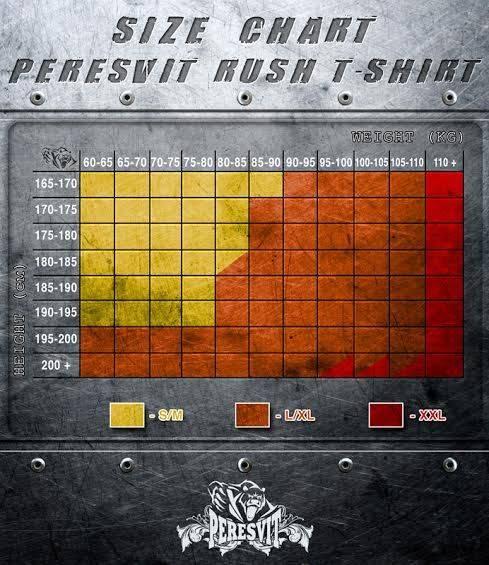 Рашгард Peresvit 3D Performance Rush Compression Red-S/M