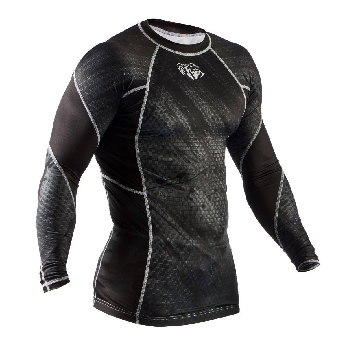Компрессионная кофта Peresvit Immortal Silver Force Black-S