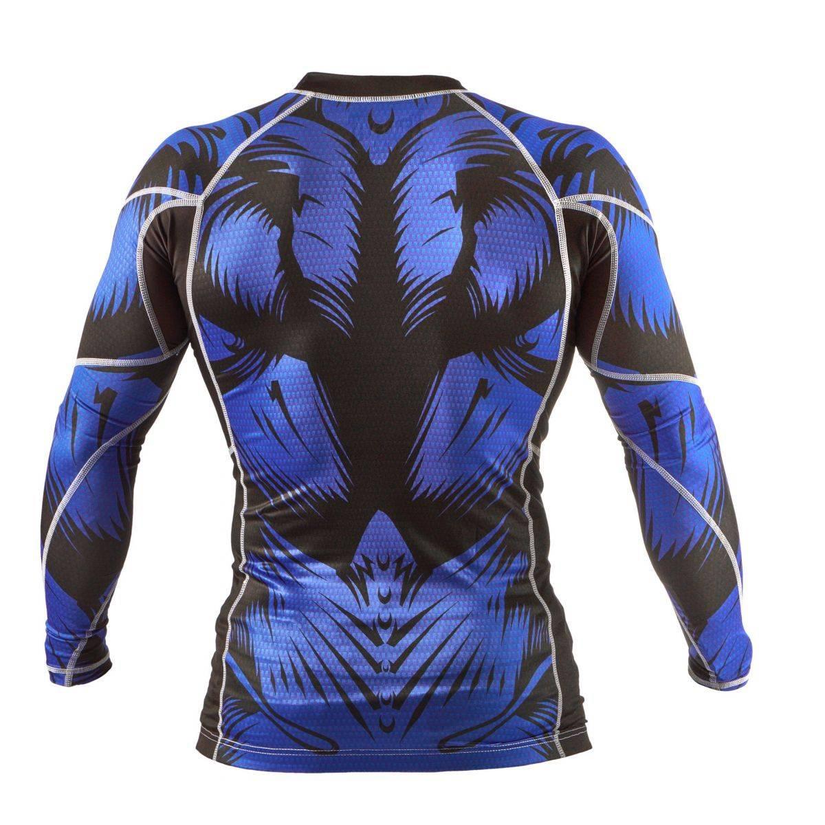 Компрессионная кофта Peresvit Immortal Silver Force Blue-S