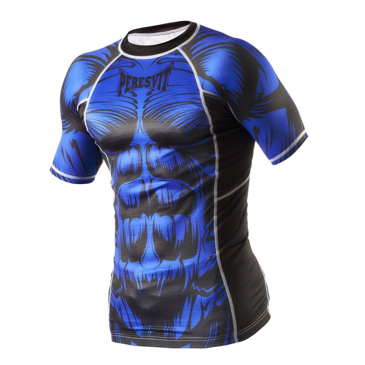 Компрессионная футболка Peresvit Beast Silver Force Blue-S