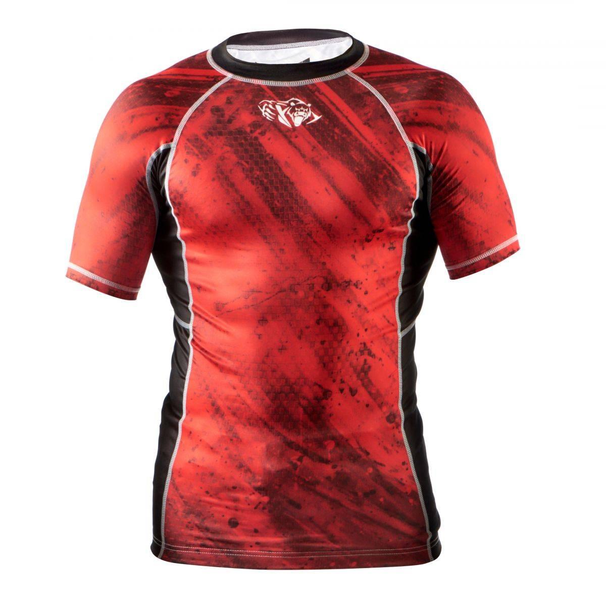 Компрессионная футболка Peresvit Beast Silver Force Red-S