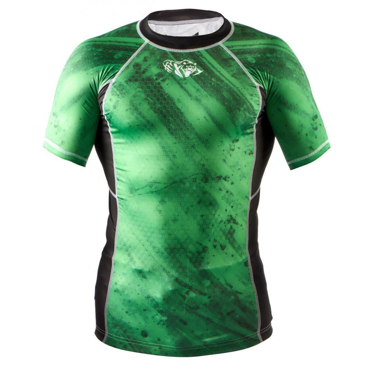Компрессионная футболка Peresvit Beast Silver Force Green-S