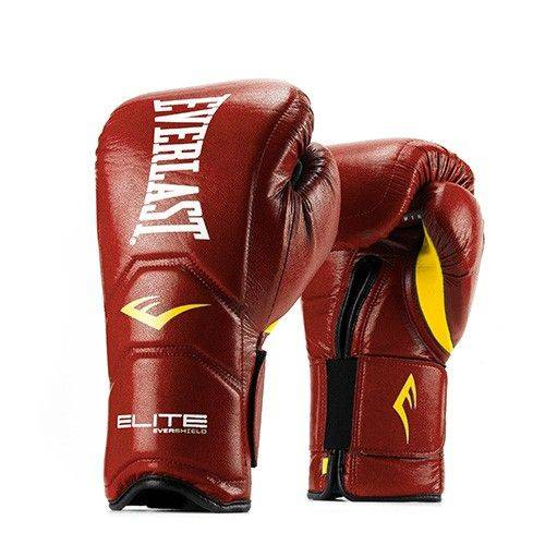 Боксерские перчатки Everlast Elite Hook & Loop Training Gloves-14