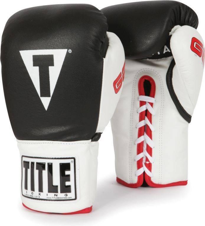 Боксерские перчатки профессиональные TITLE Gel Official Pro Fight