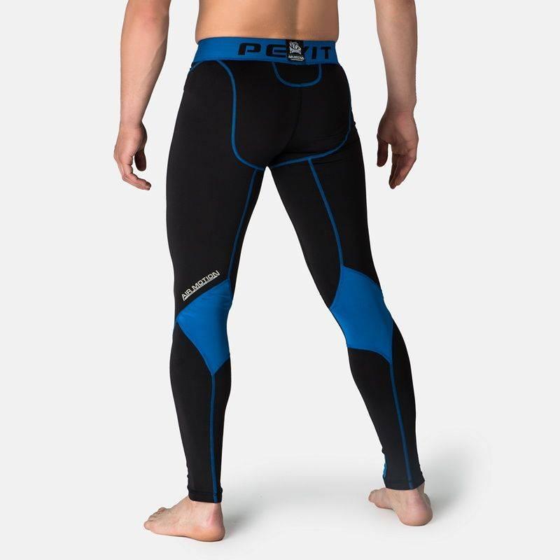 Компрессионные штаны Peresvit Air Motion Compression Leggins Black Blue-S