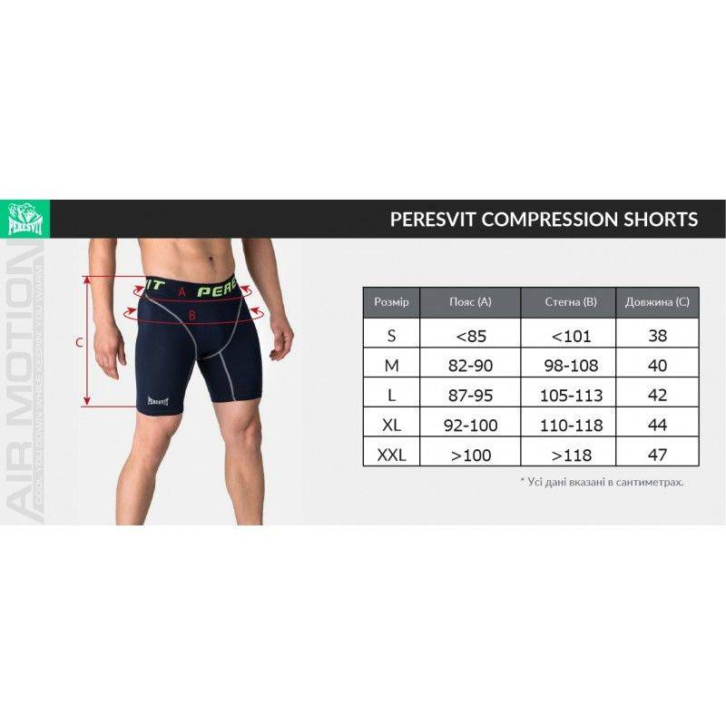 Компрессионные шорты Peresvit Air Motion Compression Shorts Red-S