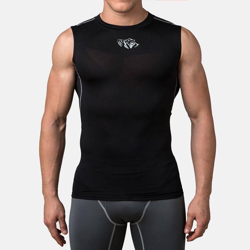 Компрессионная футболка без рукавов Peresvit Air Motion Compression Tank Black-S