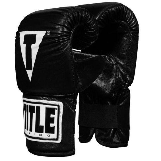 Снарядные перчатки TITLE Boxing Traditional Style Pro Bag Gloves