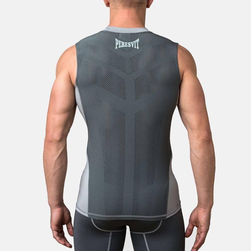 Компрессионная футболка без рукавов Peresvit Air Motion Compression Tank Heather Grey-S