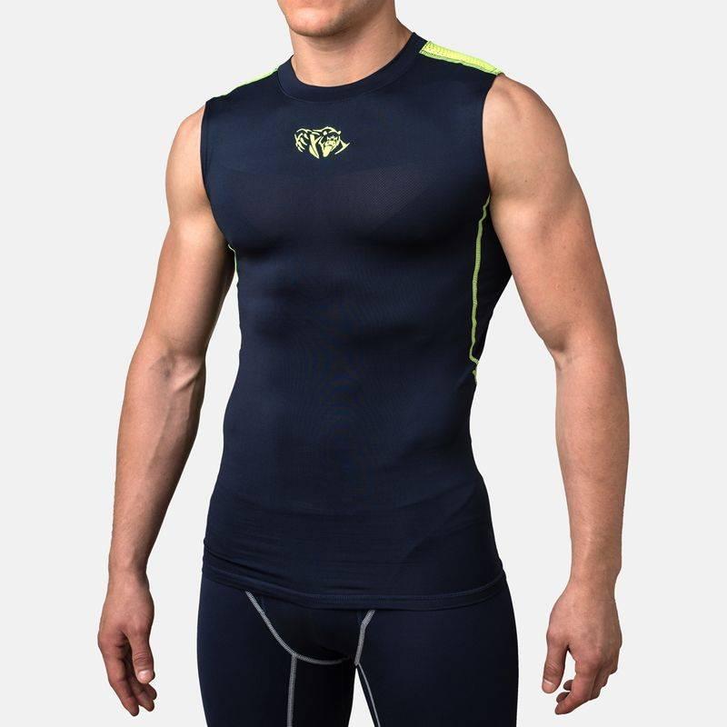 Компрессионная футболка без рукавов Peresvit Air Motion Compression Tank Navy-S