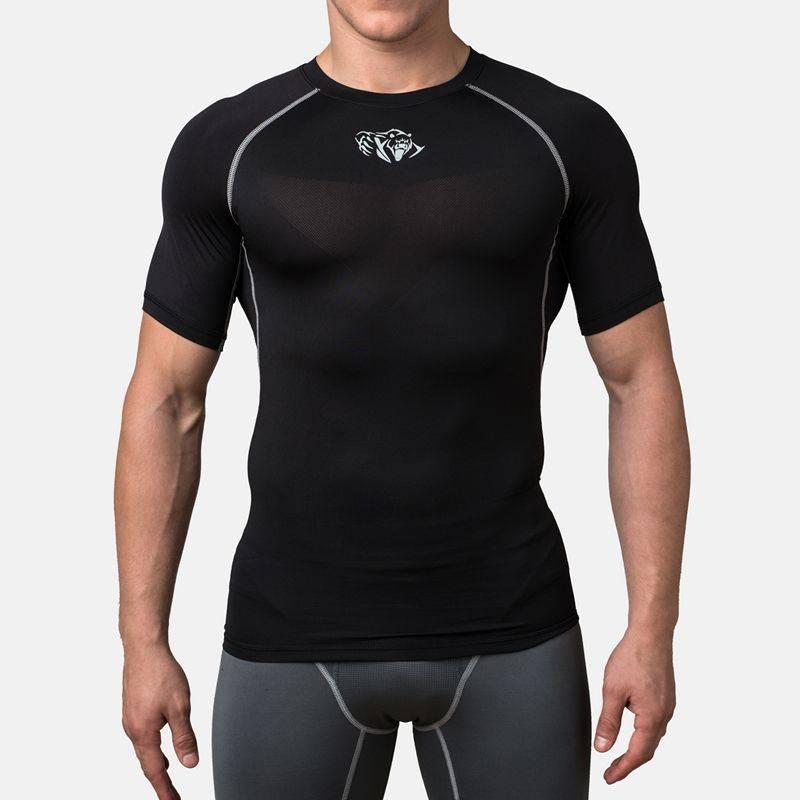 Компрессионная футболка Peresvit Air Motion Compression Short Sleeve Black-S
