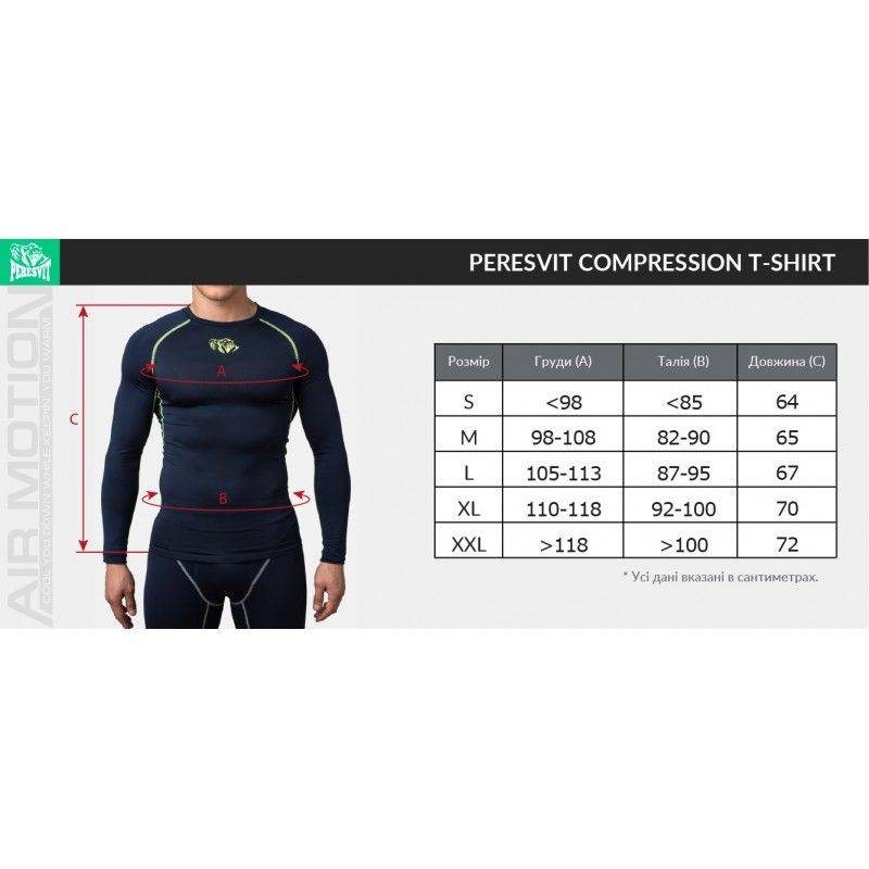 Компрессионная футболка Peresvit Air Motion Compression Short Sleeve Black Blue-S