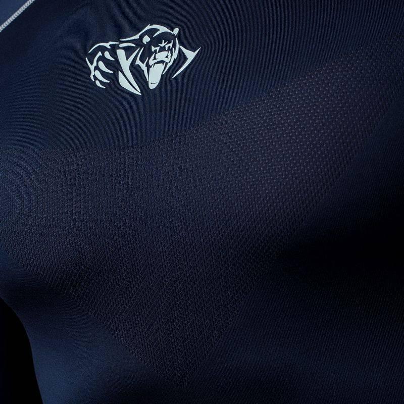 Компрессионная футболка Peresvit Air Motion Compression Short Sleeve Navy Grey-S