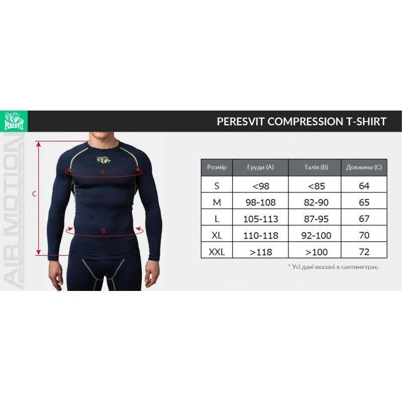 Компрессионная футболка Peresvit Air Motion Compression Short Sleeve T-Shirt Grey-S