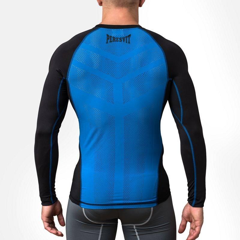Рашгард Peresvit Air Motion Compression Long Sleeve Black Blue-S