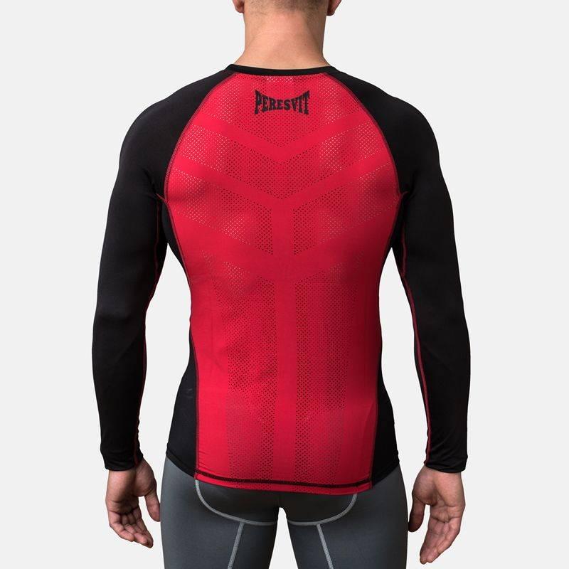 Рашгард Peresvit Air Motion Compression Long Sleeve Black Red-S