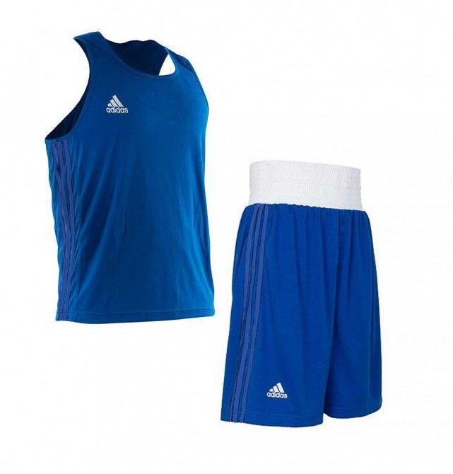 Форма для бокса Adidas Boxing Blue-XS