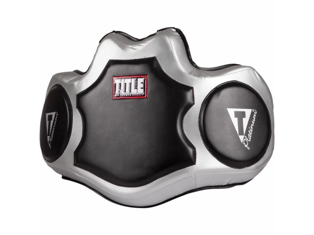 Пояс тренера TITLE Platinum Body Protector-универсальный