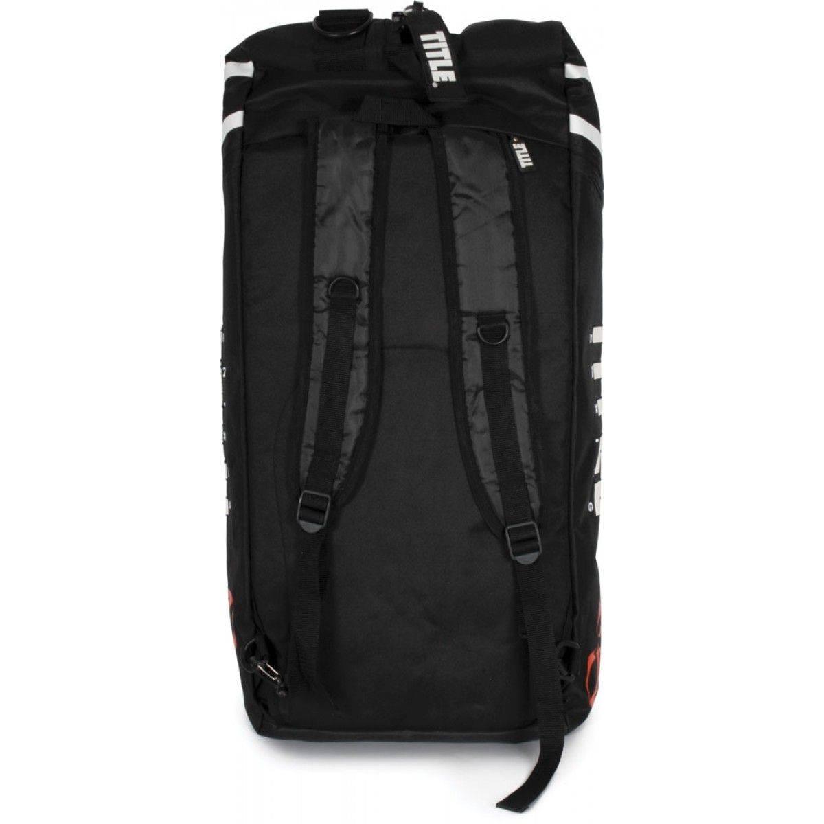Сумка-рюкзак TITLE World Champion Sport Bag/Back Pack 2.0-черный