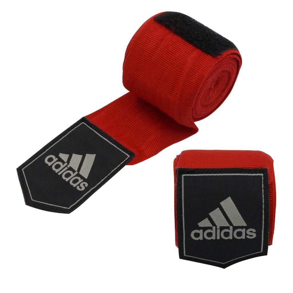 Боксерские бинты Adidas 180 (4,57м)-красный