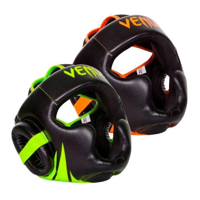 Шлем Venum Challenger 2.0 Headgear-зеленый