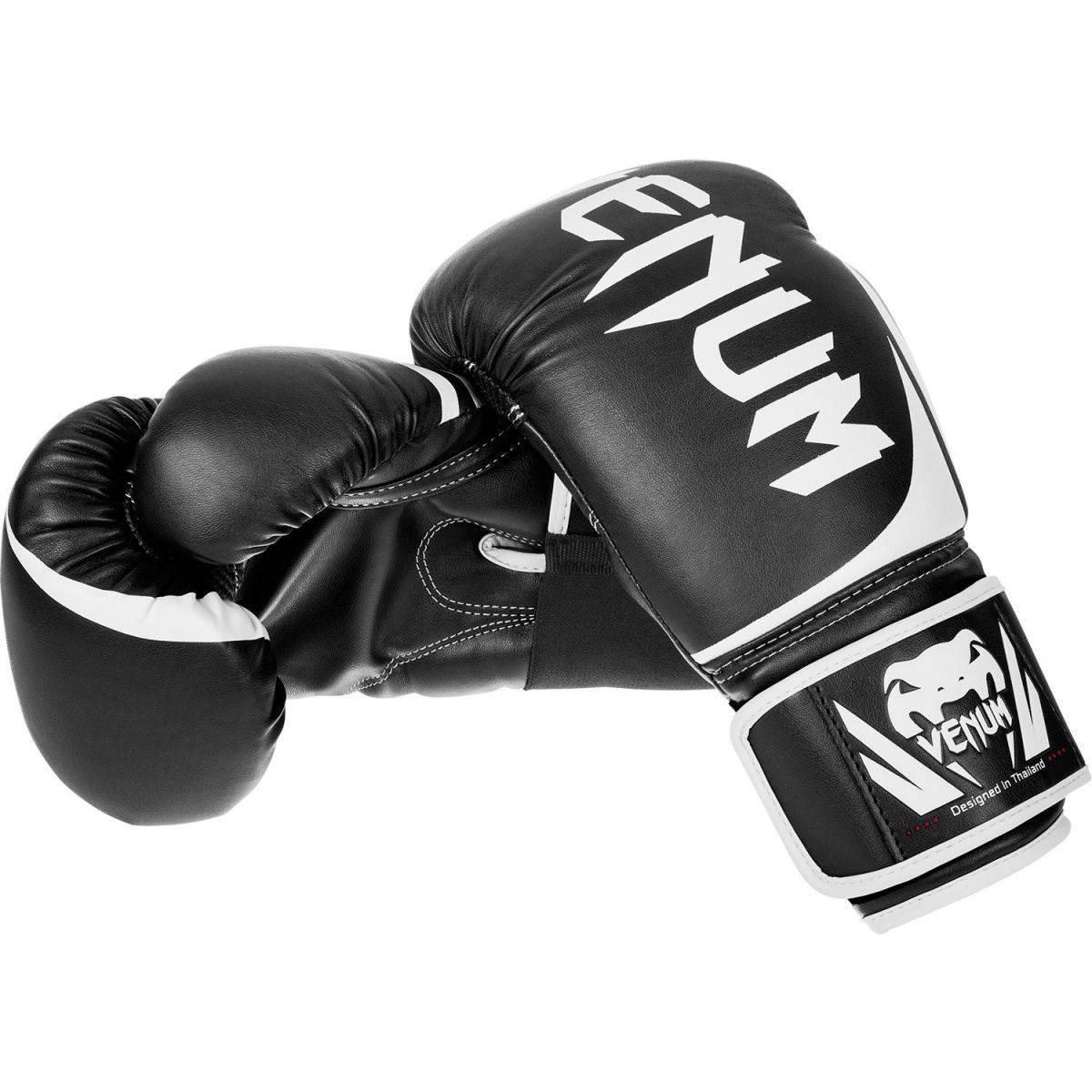 Боксерские перчатки Venum Challenger 2.0 Black-12