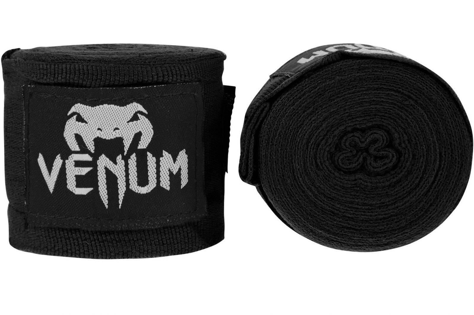 Бинты Venum Boxing Handwraps (4м)-черный