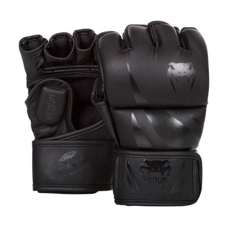 Перчатки Venum Challenger MMA Gloves Black/Black-M